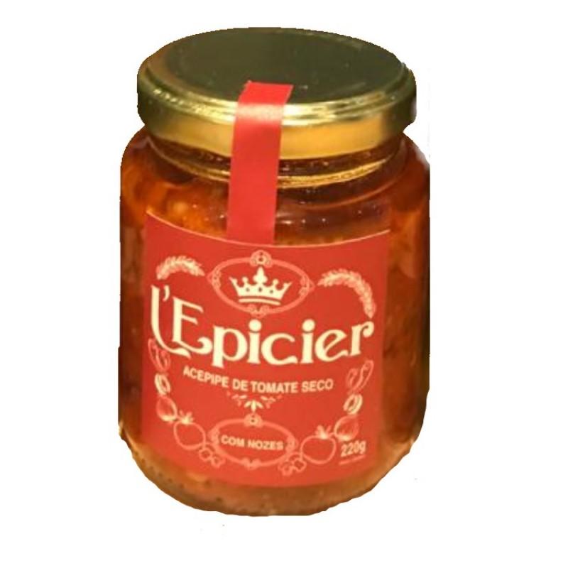 Antepasto de Tomate Seco e Nozes L'Epicier 220g