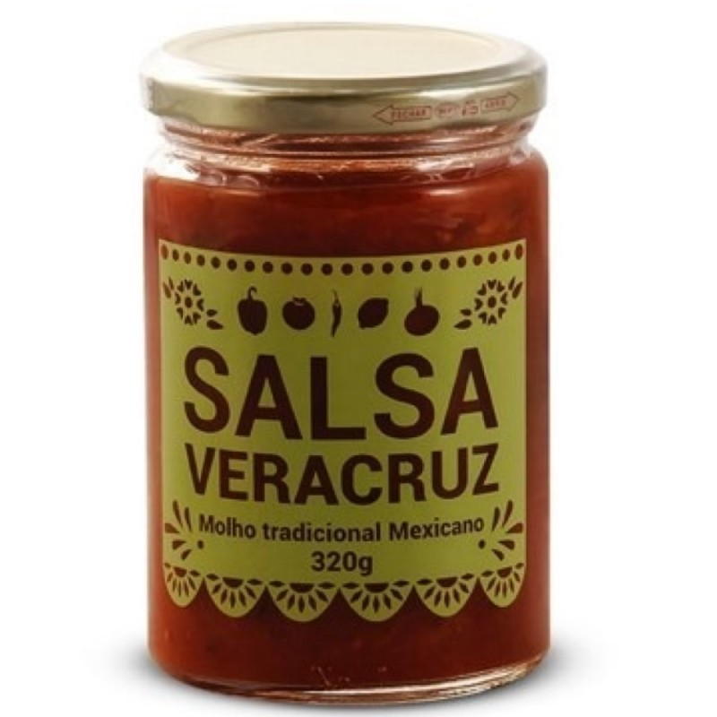 Salsa Roja Mexicana Veracruz Villa Buena 320g