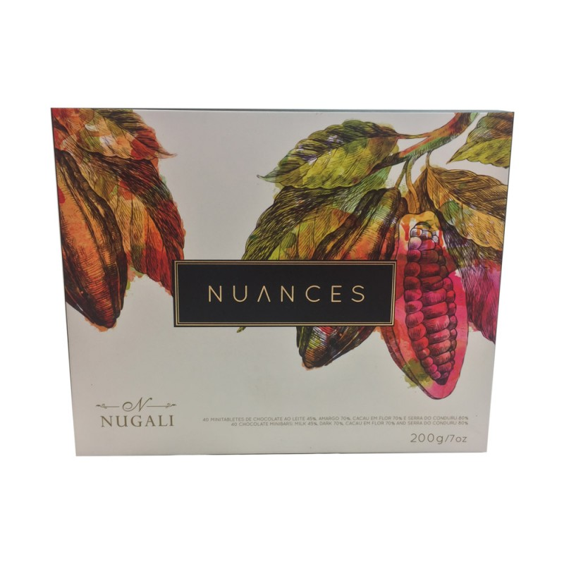 Caixa de Chocolates Nuances Nugali 200g