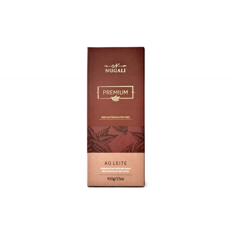 Chocolate ao Leite 45% Cacau Nugali 100g
