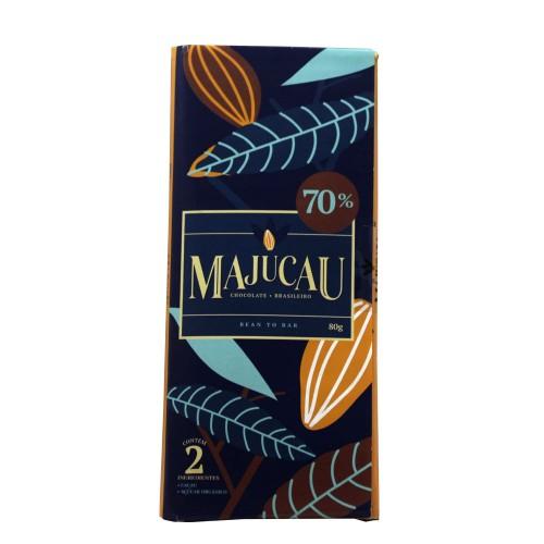 Chocolate 70% Majucau 80g