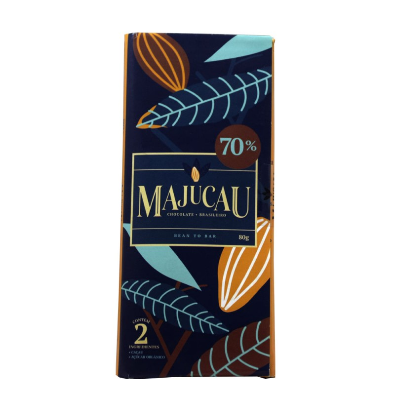 Chocolate 70% Majucau 80g