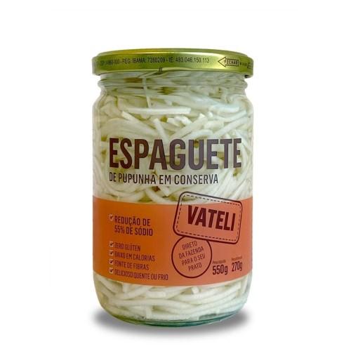Espaguete de Palmito Pupunha em Conserva Vateli 270g