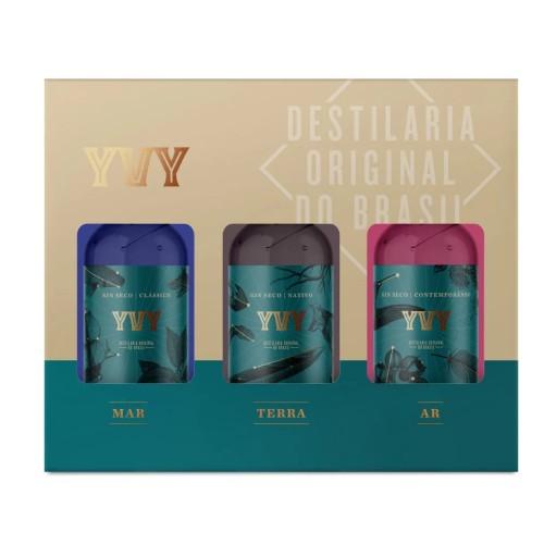 Gin Trilogia YVY Mar Terra e Ar 200ml