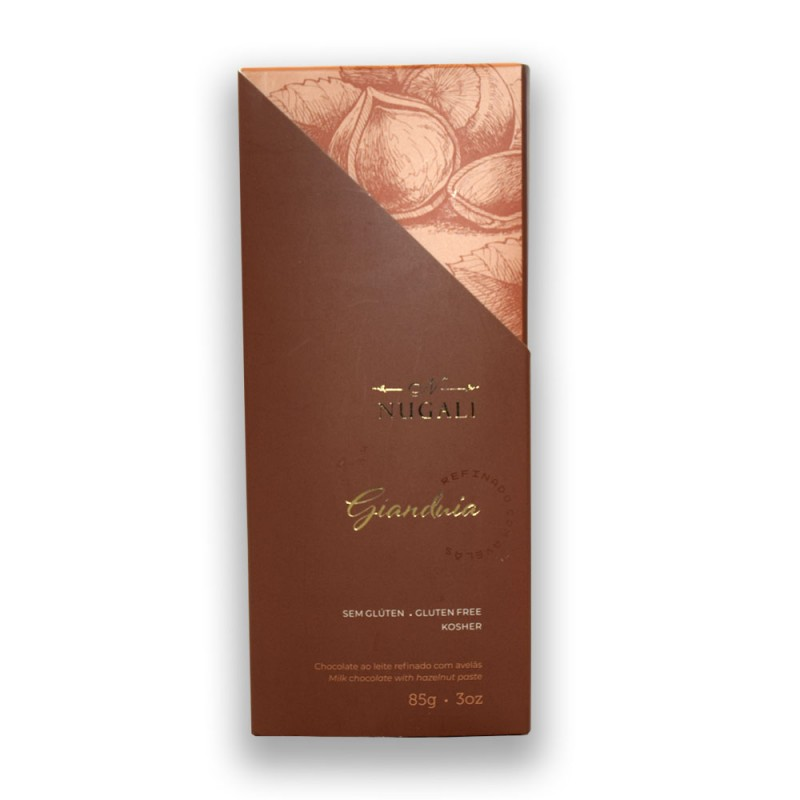 Chocolate Gianduia Nugali 85g