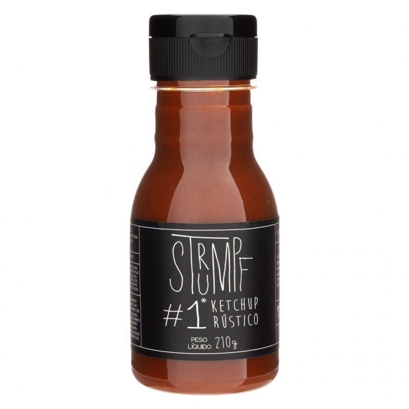 Ketchup Rustico Strumpf  210g