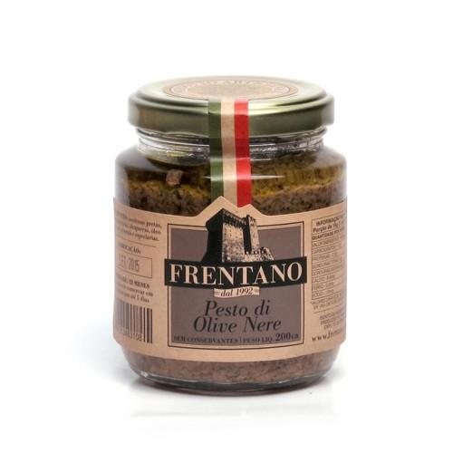 Pesto de Azeitonas Pretas Frentano 200g