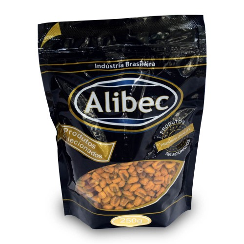 Milho Espanhol Torrado e Salgado - Alibec 250g