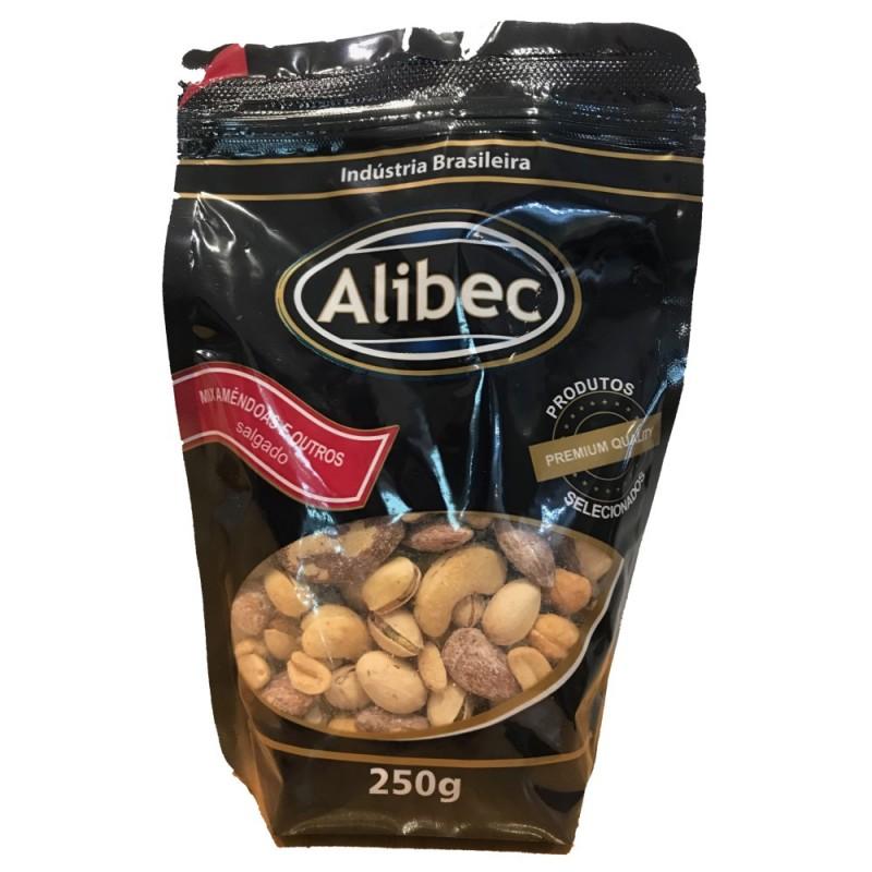Mix de Castanhas Salgado Alibec 250g