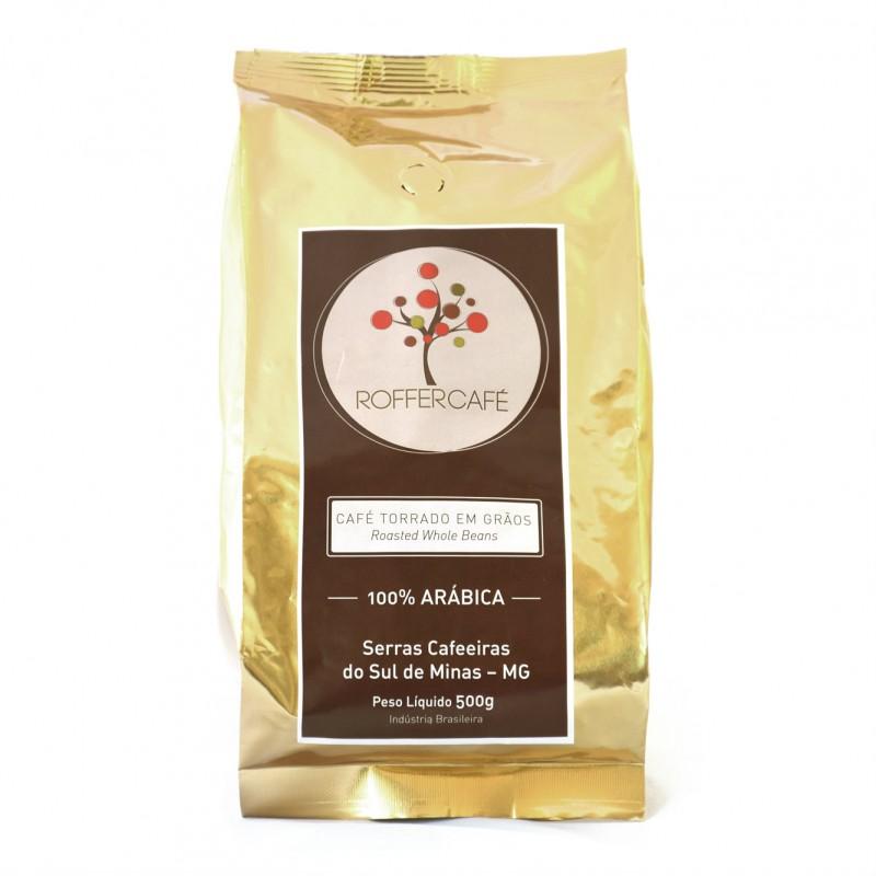 Café Cereja Torrado em Grãos - Roffer 500g