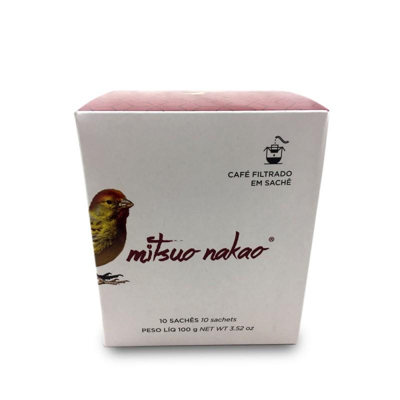 Café Mitsuo Nakao em Sachê com 10 unidades