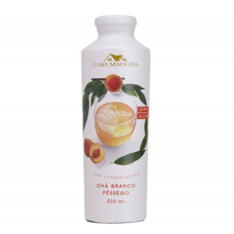 Chá Branco com Pêssego Casa Madeira 500ml