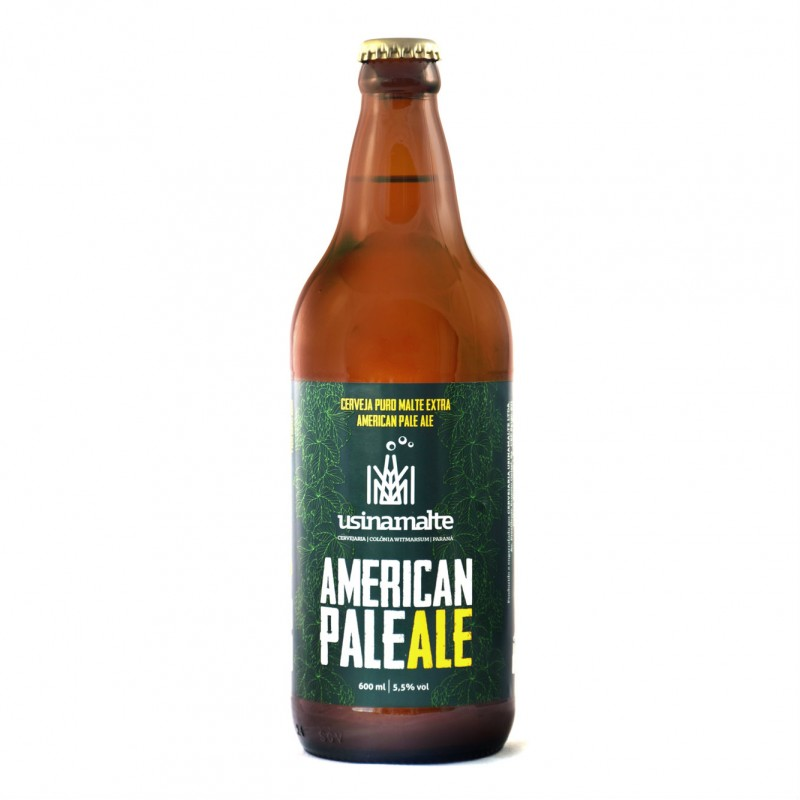 Cerveja American Pale Ale Usinamalte 600ml