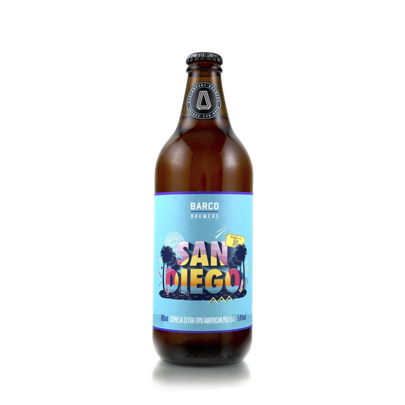 Cerveja San Diego APA Barco 600ml