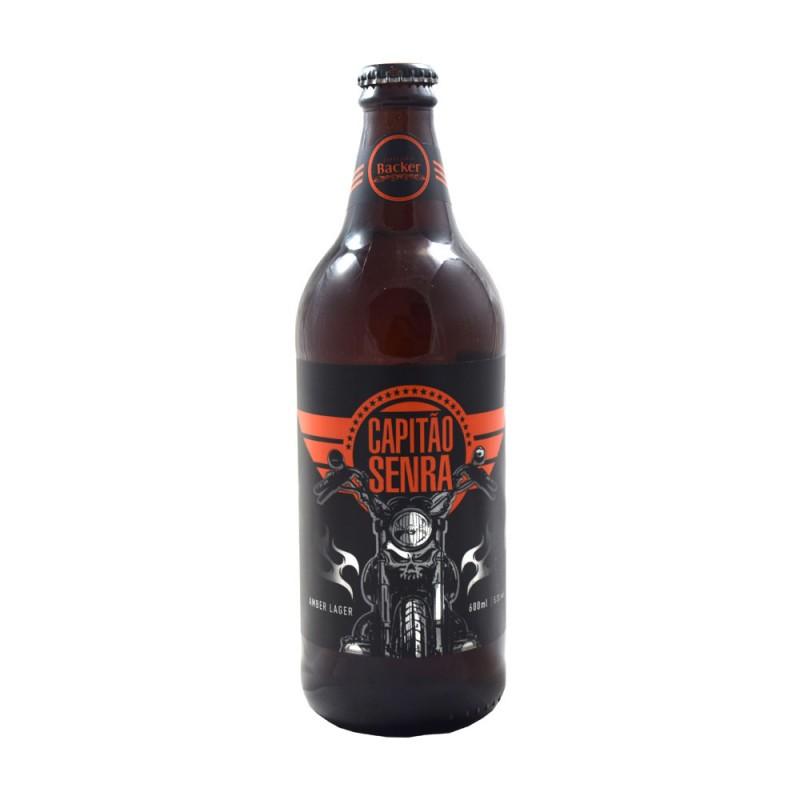Cerveja Capitão Senra Backer 600ml