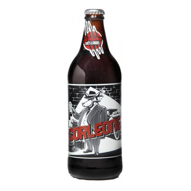 Cerveja Corleone Imperial Red Ale Backer 600ml