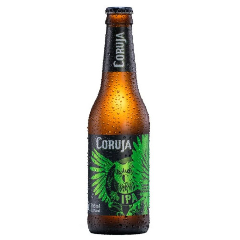 Cerveja Coruja IPA Long Neck 355ml