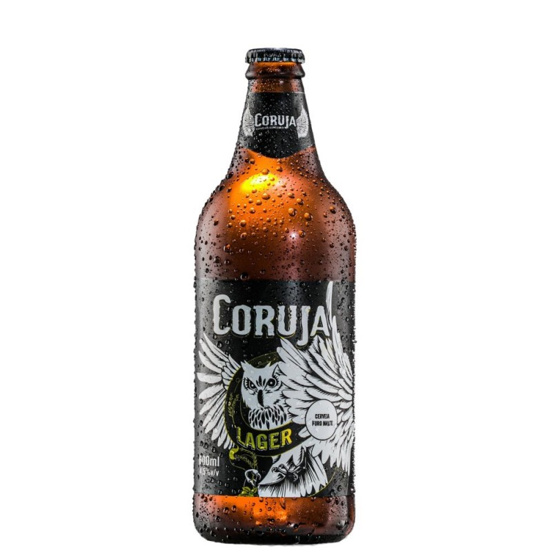 Cerveja Coruja Lager 500 ml