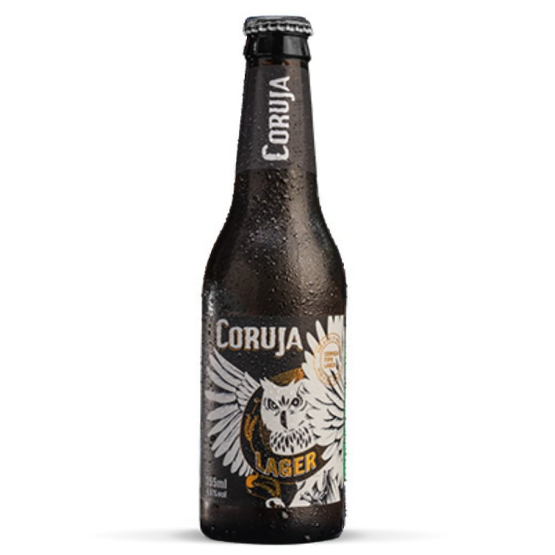 Cerveja Coruja Lager Long Neck 355ml