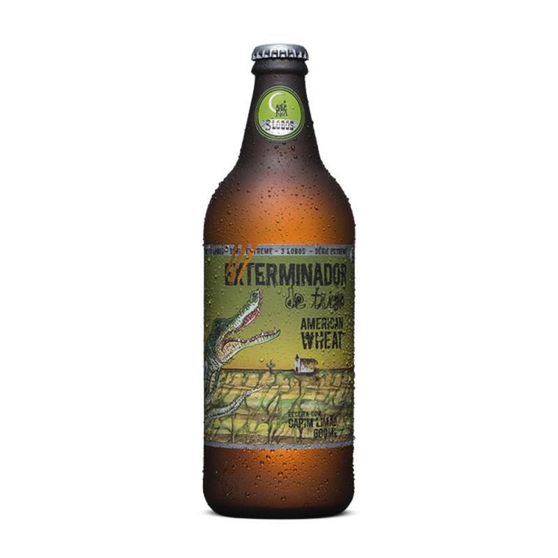 Cerveja Exterminador de Trigo Tres Lobos Backer 600ml