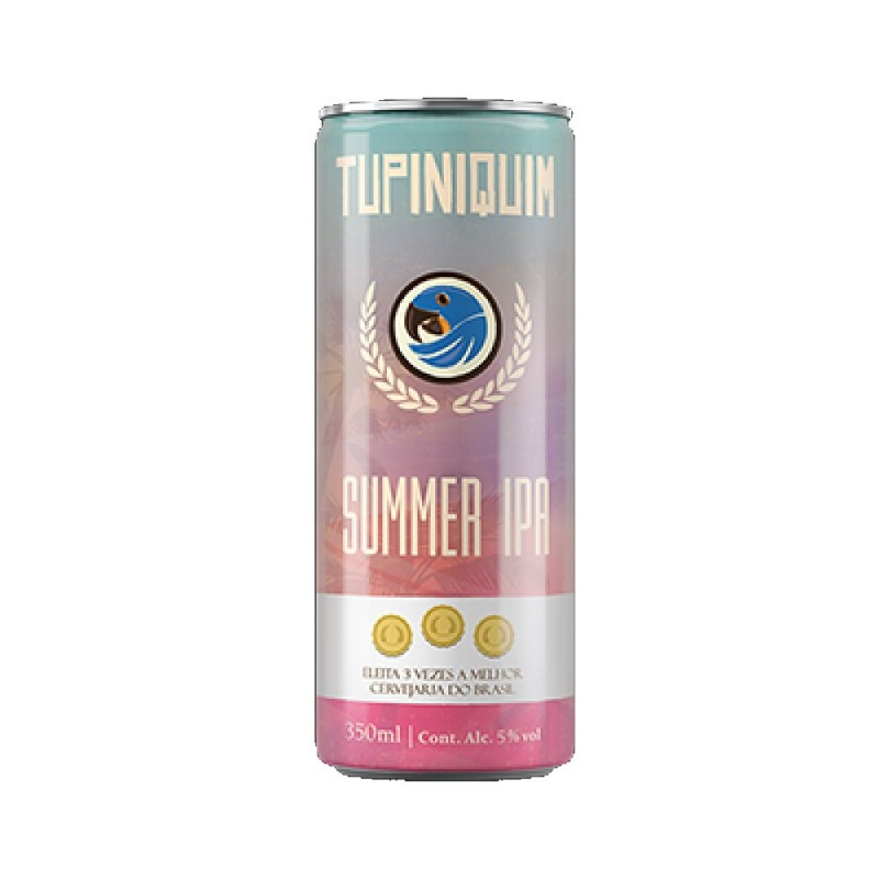 Cerveja Summer IPA Tupiniquim  350ml