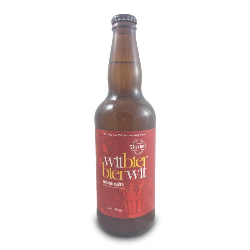 Cerveja Witbier Usinamalte 500ml