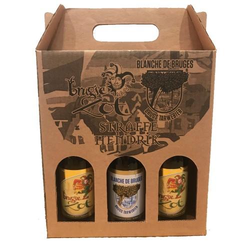 Kit 3 Cervejas Belgas