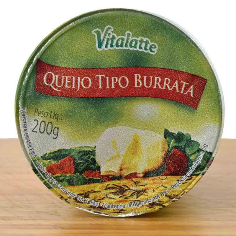 Queijo Burrata Vitalatte 200g