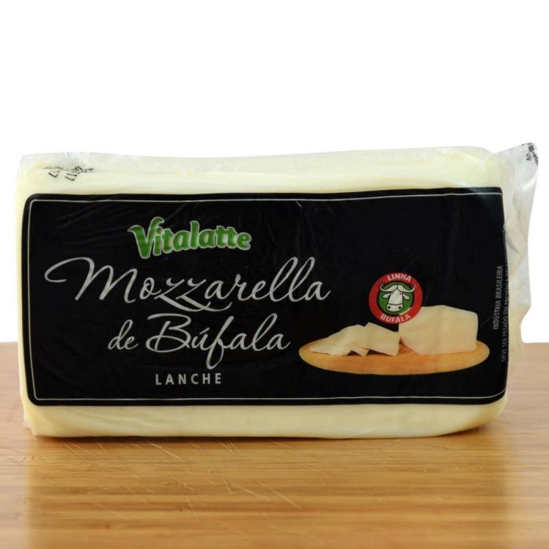 Queijo Mozzarella de Bufula Lanche Vitalatte - 410g