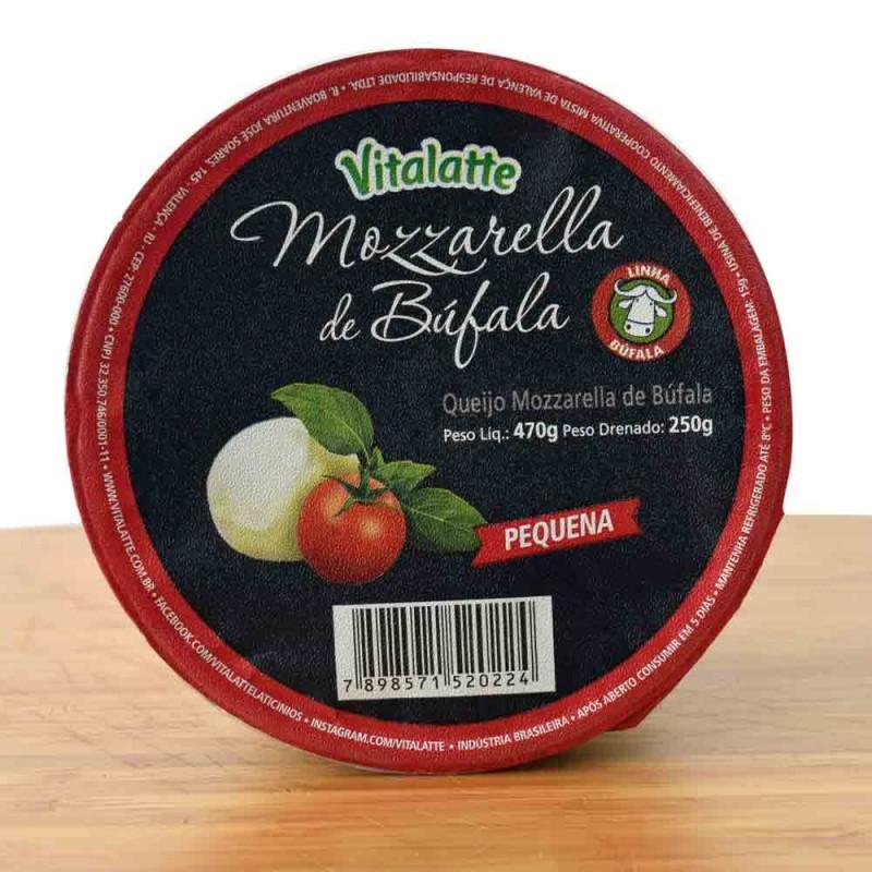 Queijo Mozzarella de Bufula Peq Vitalatte - 250g