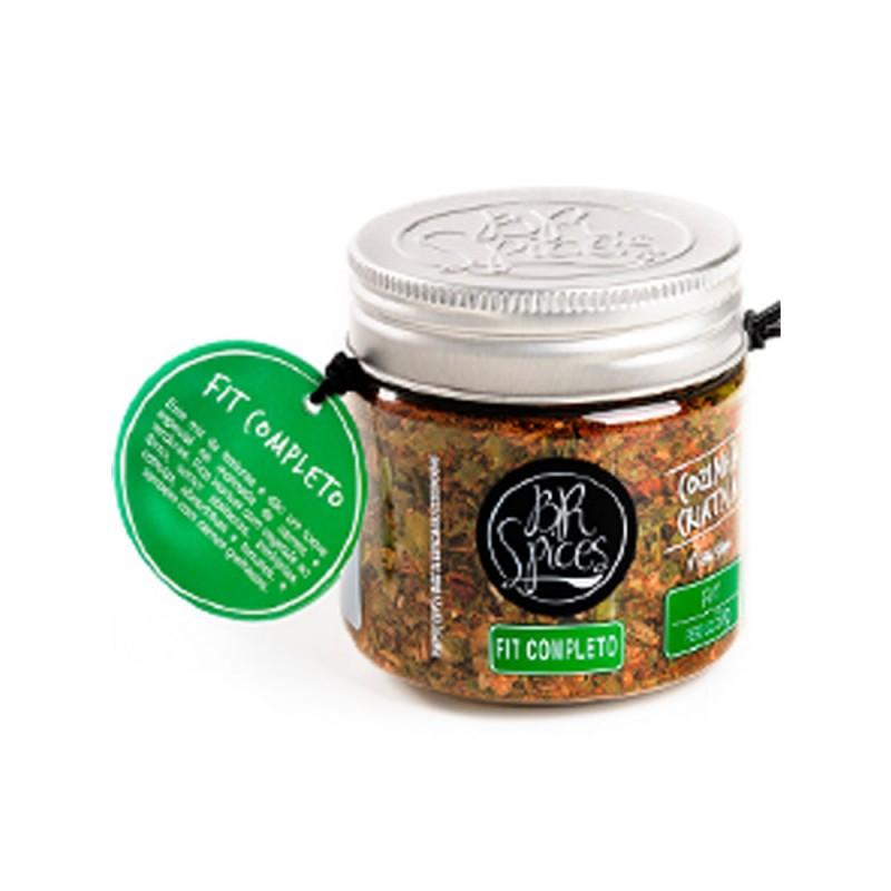 Mix de Tempero Fit Completo Br Spices - pote 50g
