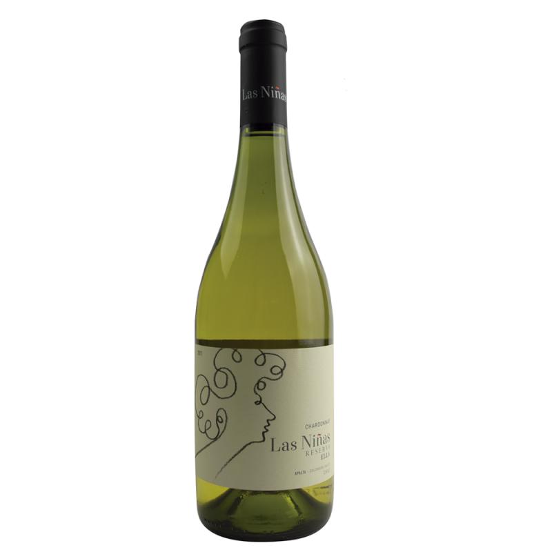 Vinho Branco Las Niñas Ella Reserva Chardonnay 750ml