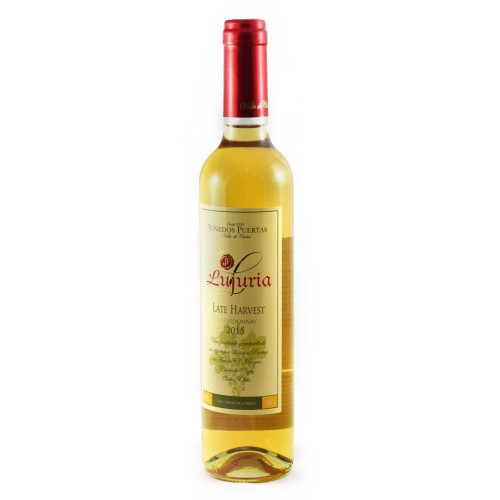 Vinho Lujuria Late Harvest Chardonnay - Vinedo Puertas 500ml