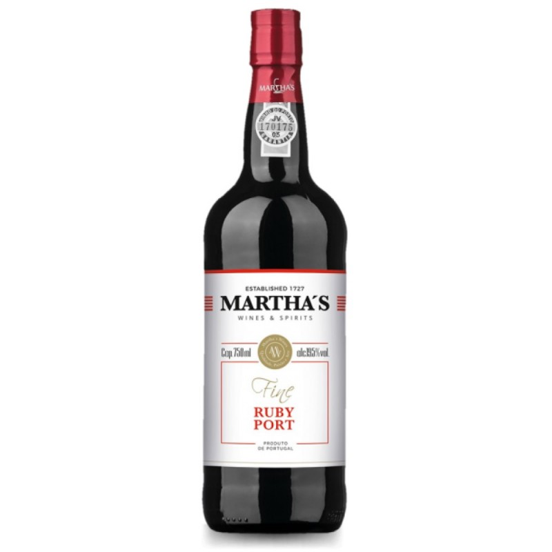 Vinho do Porto Ruby Martha's 750ml