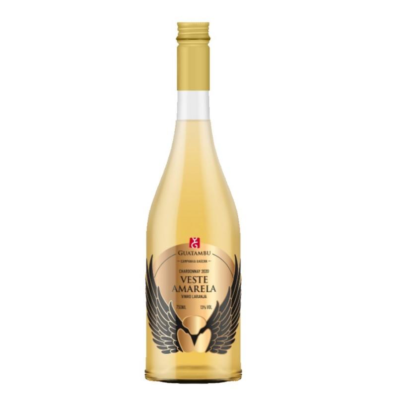 Vinho Laranja Veste Amarela Guatambu 750ml