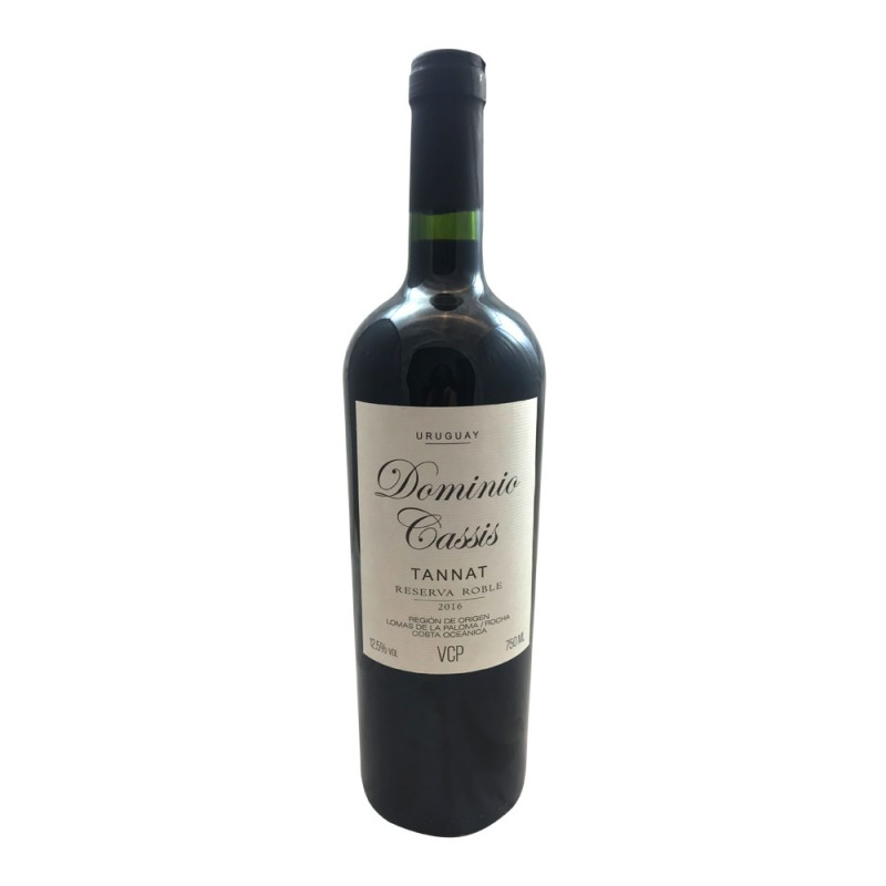 Vinho Tinto Dominio Cassis Tannat Roble 750ml