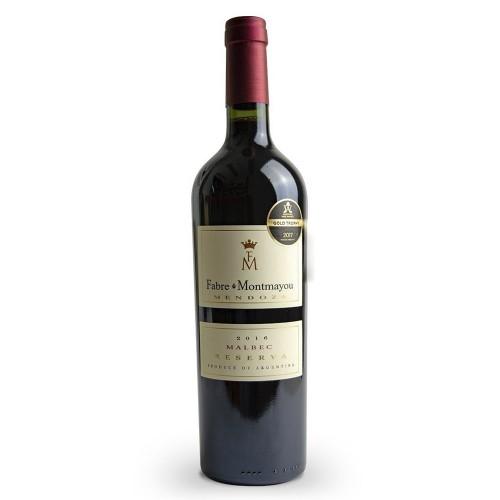 Vinho Tinto Fabre Montmayou Reserva Malbec 750ml
