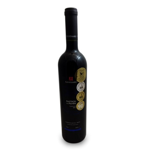 Vinho Tinto Guatambu Rastros do Pampa Tannat 750ml