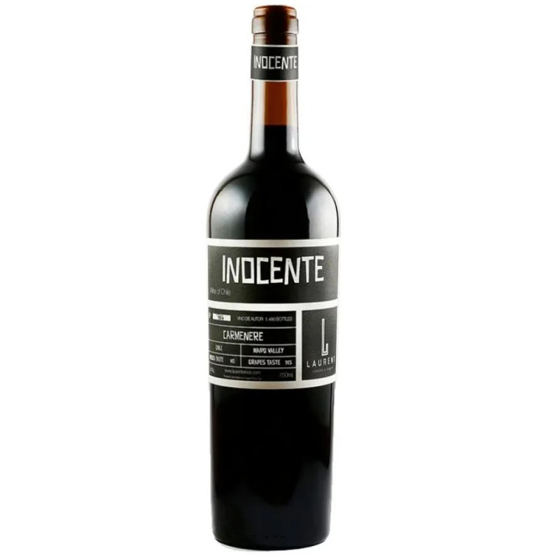 Vinho Tinto Inocente Carmenere Laurent Wines 750ml