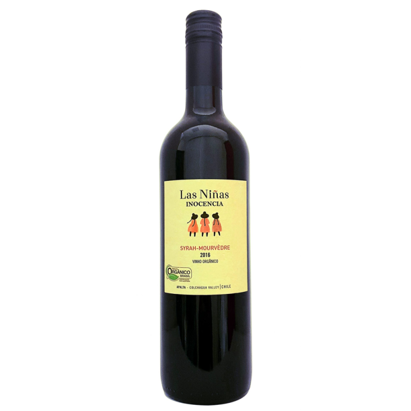Vinho Tinto Las Niñas Inocência Syrah-Mourvedre 750ml