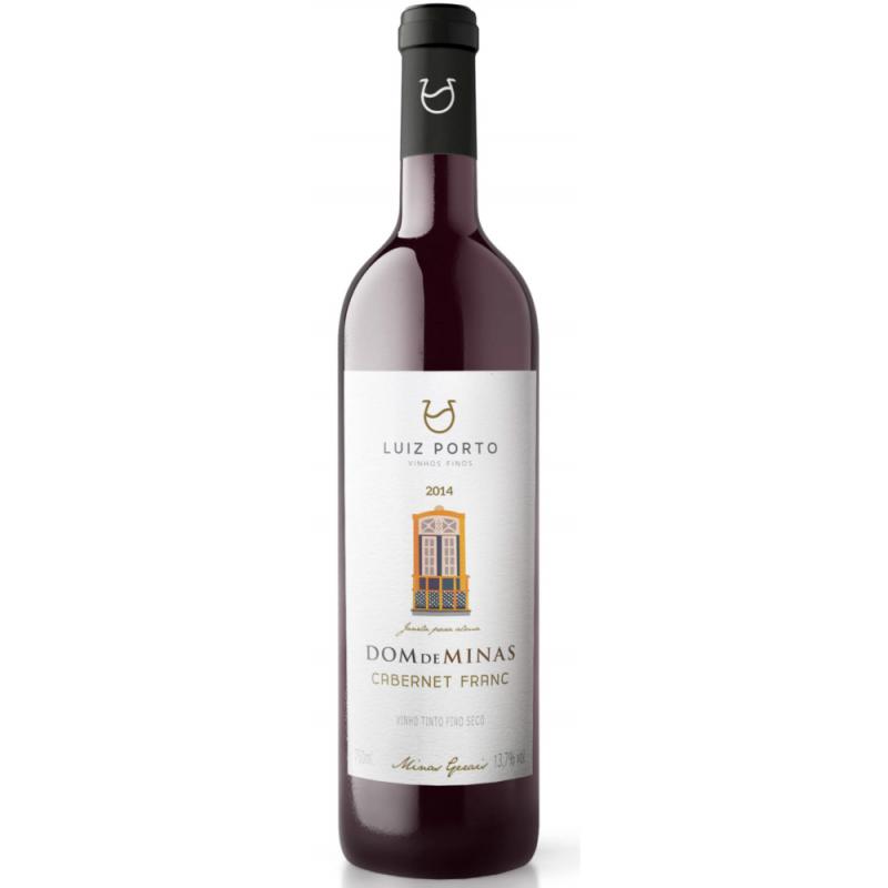 Vinho Tinto Luiz Porto Cabernet Franc 750ml