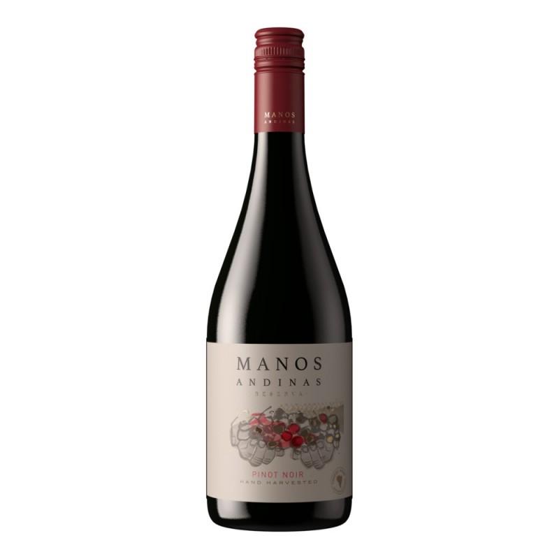 Vinho Tinto Manos Andinas Pinot Noir 750ml