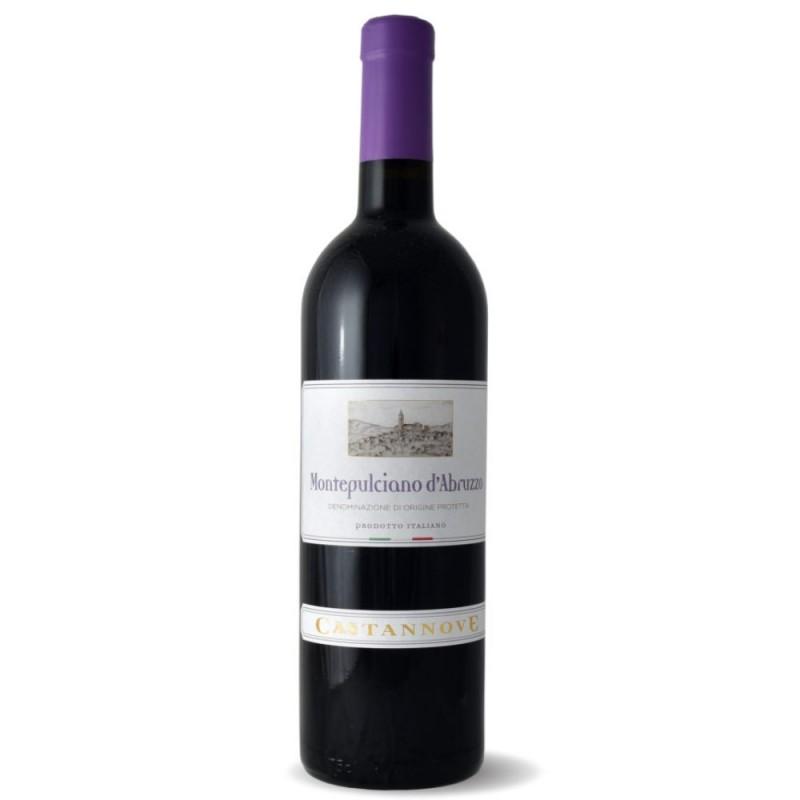 Vinho Tinto Montepulciano d'Abruzzo DOP Castannove 750ml