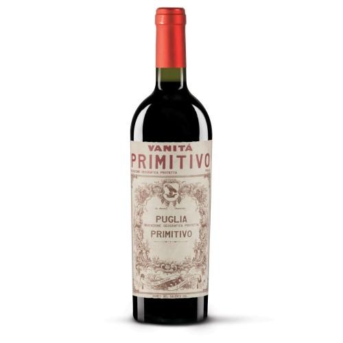 Vinho Tinto Vanitá Primitivo Puglia IGP 750ml